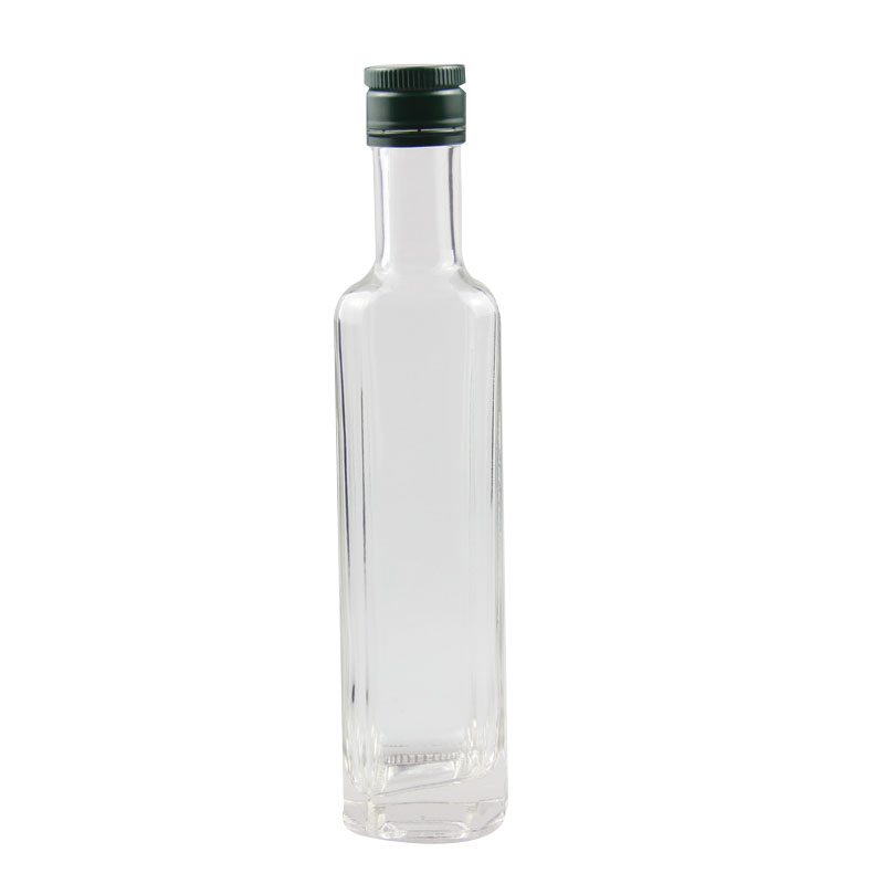 oil glass empty bottle