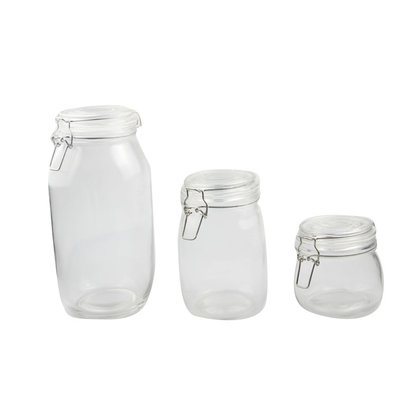 glass flour container  1liter / 35oz