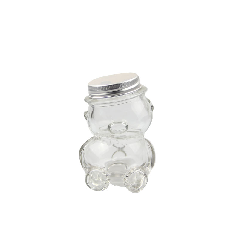 creative bear glass jars with lids