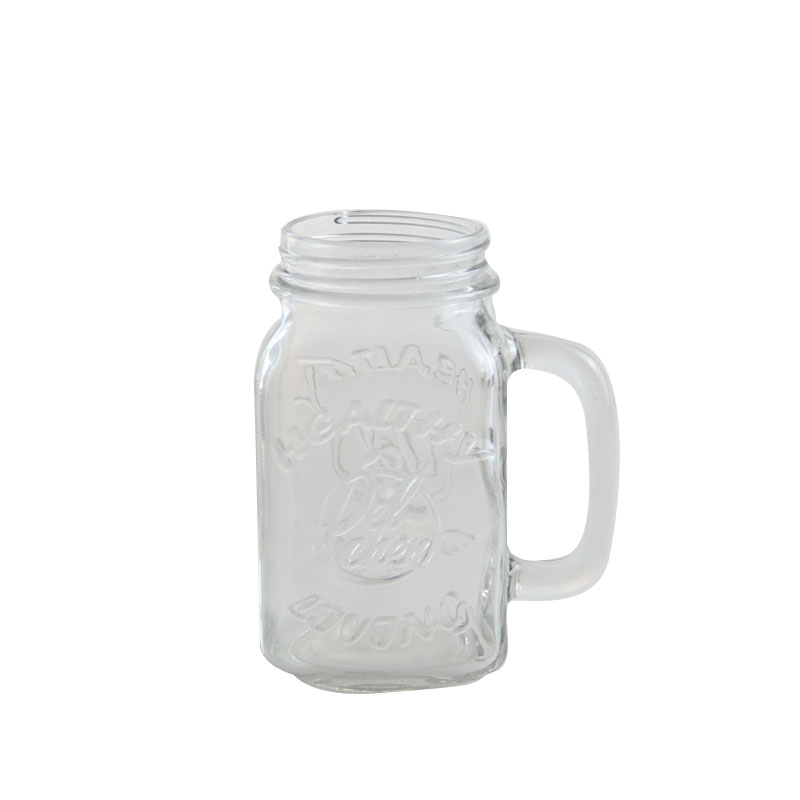 embossed wide mouth mason jars