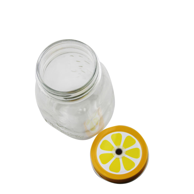 Factory direct sales mason jar without handle