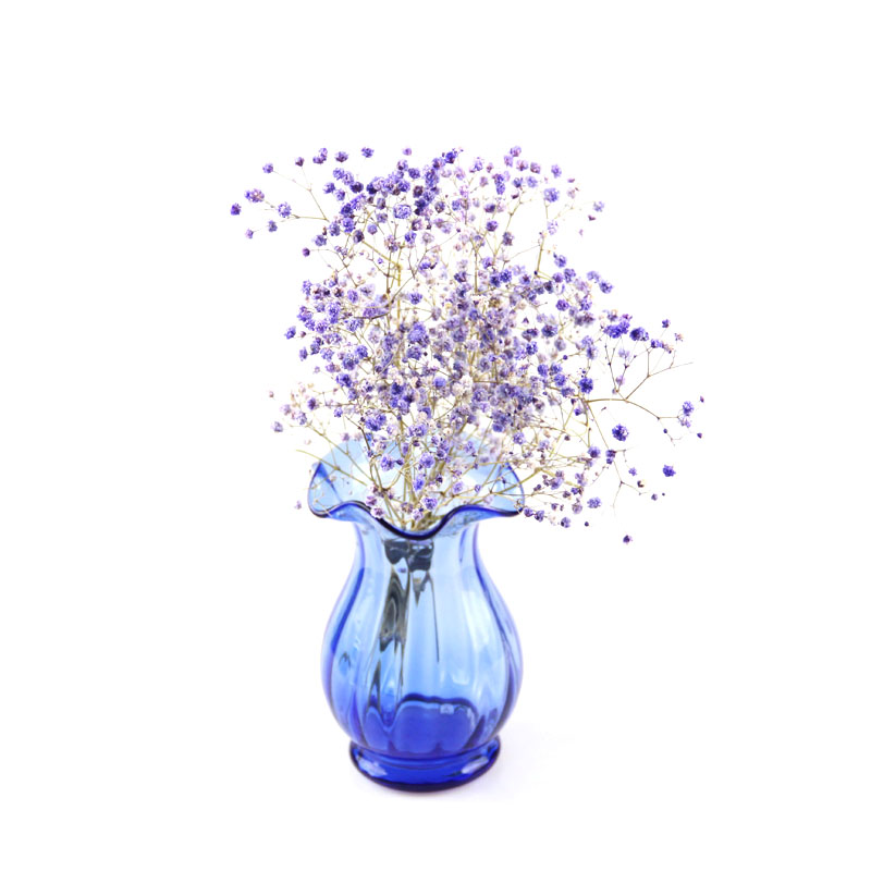 High Quality Flower Shaped Glass Vase Wholesale