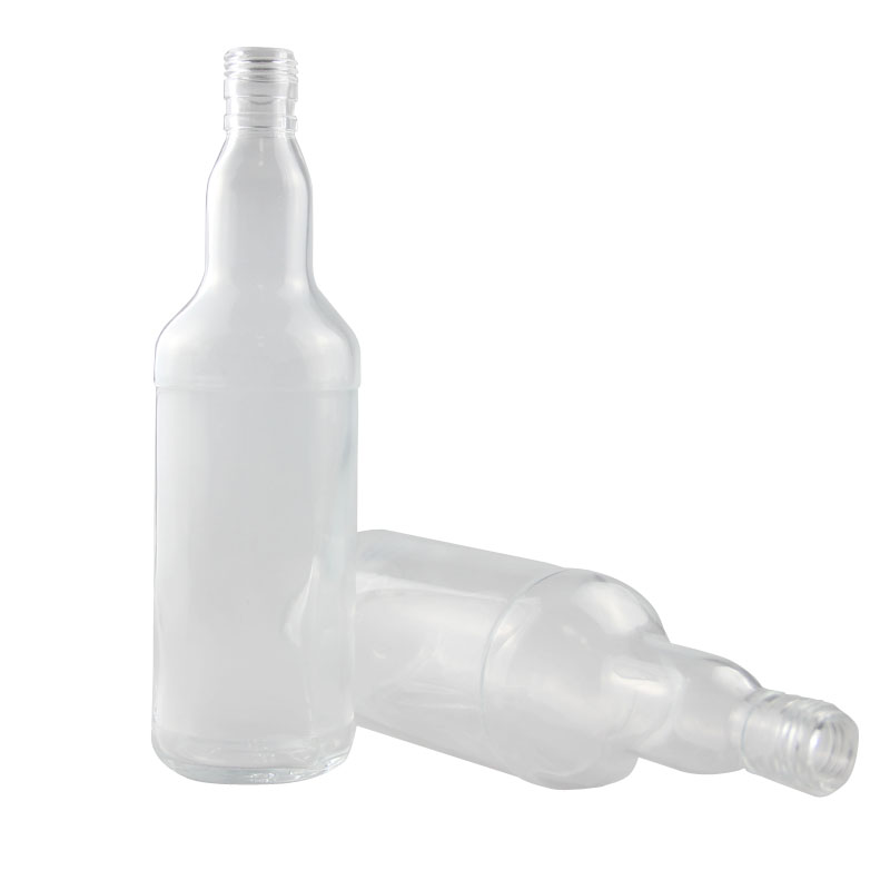clear glass beer bottle wholesale