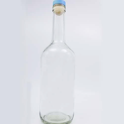 RUM wine glass bottle with lids production